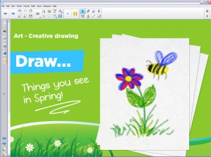 Interaktive Whiteboards | CREATIVE DRAWING | Software