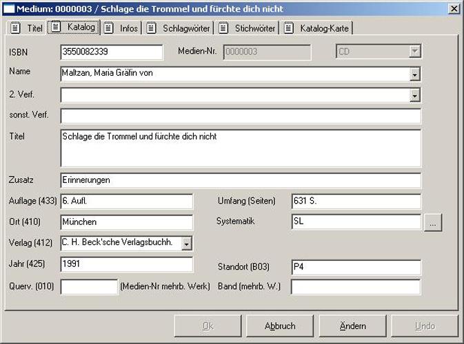 Software Bibliothek | FLEISCHMANN | Maske - Medien